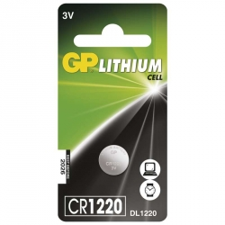 GP Batéria Líthiová Gombíková CR1220