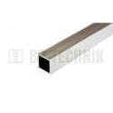Hliníkový profil štvorcový 20x20x1,5x2000 mm neeloxovaný