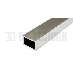 Hliníkový profil obdĺžnikový 50x20x2,0x2000 mm neeloxovaný