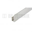 Hliníkový profil J 11x25x13x2000 mm neeloxovaný
