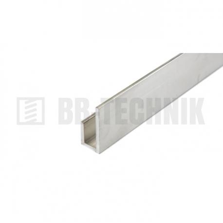 Profil J 16x23x10x2000 hliník