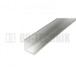 Hliníkové profil L 20x20x2,0x2000 mm neeloxovaný