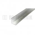 Hliníkový profil L 20x20x2,0x2000 mm neeloxovaný