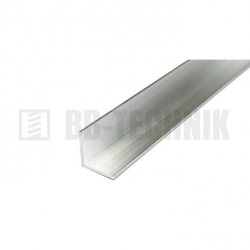Hliníkový profil L 25x25x2,0x2000 mm neeloxovaný