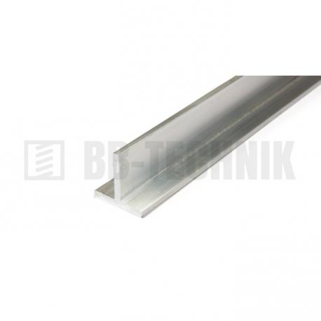 Profil T 15x15x2,0x2000 hliník