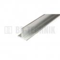 Hliníkový profil T 25x25x3,0x2000 mm neeloxovaný
