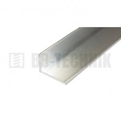 Hliníkový profil L 60x40x2,6x2000 mm neeloxovaný