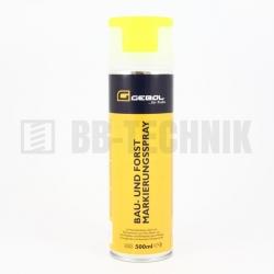 Značkovací sprej žltý 500 ml Gebol