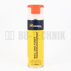 Značkovací sprej červený 500 ml Gebol