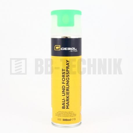 Značkovací sprej zelený 500 ml Gebol