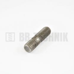 DIN 939 M 12x28 5.8 skrutka závrtná do liatiny