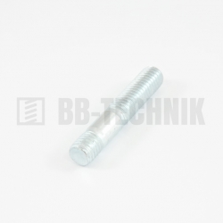 DIN 939 M 8x25 8.8 ZN skrutka závrtná do liatiny