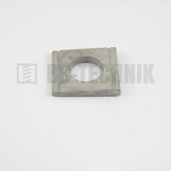 DIN 434 D 13,5 mm žiarový ZN 8% skosená podložka