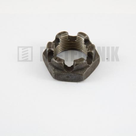 DIN 937 korunková matica nízka jemný závit