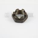 DIN 937 M 18x1,5 14H korunková matica nízka jemný závit