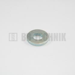 DIN 7349 D 8,4x21x4,0 mm ZN plochá podložka hrubá