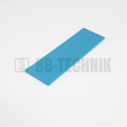 Podložka plastová dištančná 2 mm modrá