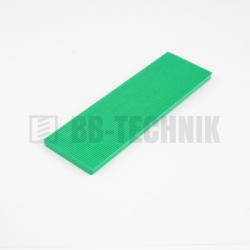 Podložka plastová dištančná 4 mm zelená