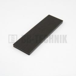 Podložka dištančná 5 mm čierna