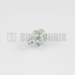 DIN 71412A M 10x1 maznica guľová rovná