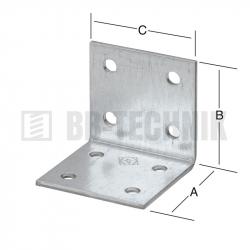Uholník 40x40x20 mm