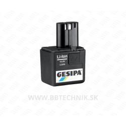 GESIPA Akumulátor Li-lon 14,4/1,3A