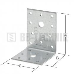 Uholník nerovnoramenný 80x60x60 mm