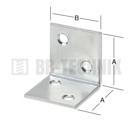 Uholník široký 30x30 mm