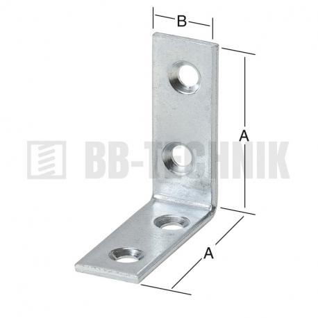 Uholnik stolársky 100x100x20 mm
