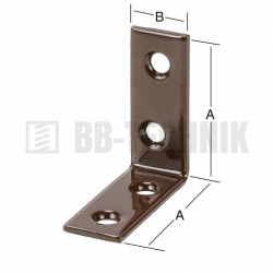 Uholnik stolársky 25x15x2,0 mm hnedý