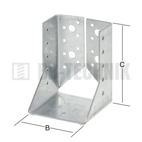 Strmeň vnútorný 100x140x2 mm typ B
