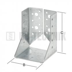 Strmeň vnútorný 80x120x2 mm typ B