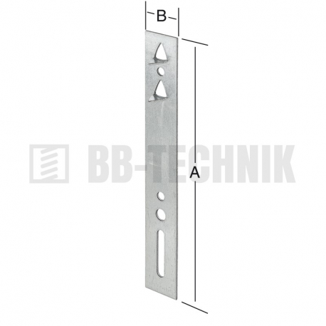 Montažny profil na okná 140x20 mm