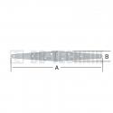 Pánt valcovaný 242x33 mm trojuholníkové ramená