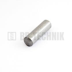 DIN 7 6x10 nekalený valcový kolík