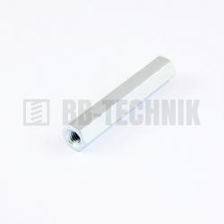 BN 3319 M 4x40 ZN dištančný stĺpik