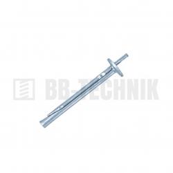 Natĺkacia kotva 6x35 KRW na montáž stropných podhľadov