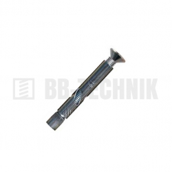 GB DELP 10 M 8x80 plášťová kotva ľahká zápustná hlava