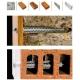 GB GXLS 10x200 zauzlovacia rámová hmoždina so 6-hrannou hlavou