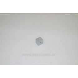 Spojka hliníkových profilov kocka plastová 20x20 mm