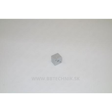 Spojka kocka plastová 20x20 mm