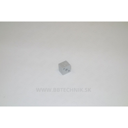 Spojka hliníkových profilov kocka plastová 25x25 mm