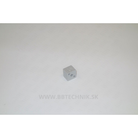 Spojka kocka plastová 25x25 mm