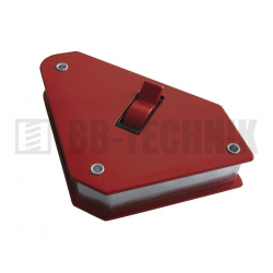 Magnet uhlový s vypínačom 95x109x25 mm