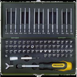 PROXXON špeciána sada bezpečnostných bitov 75-dielna