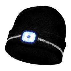 GEBOL LED čiapka čierna