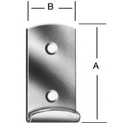 Háčik k bedňovému uzáveru 17x15mm
