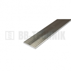 Hliníkový profil plochý 20x2,0x1000 mm neeloxovaný