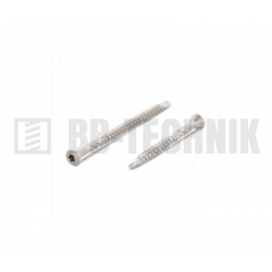 Terasová skrutka 3,2x60/36 mm TX10 úzka hlava nerez