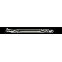 Vrták HSS-G 3,1 mm OBOJSTRANNÝ, vybrusovaný, do ocele, HELLER